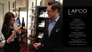 Lafco NYC Wine Tasting and Perfume Launch
