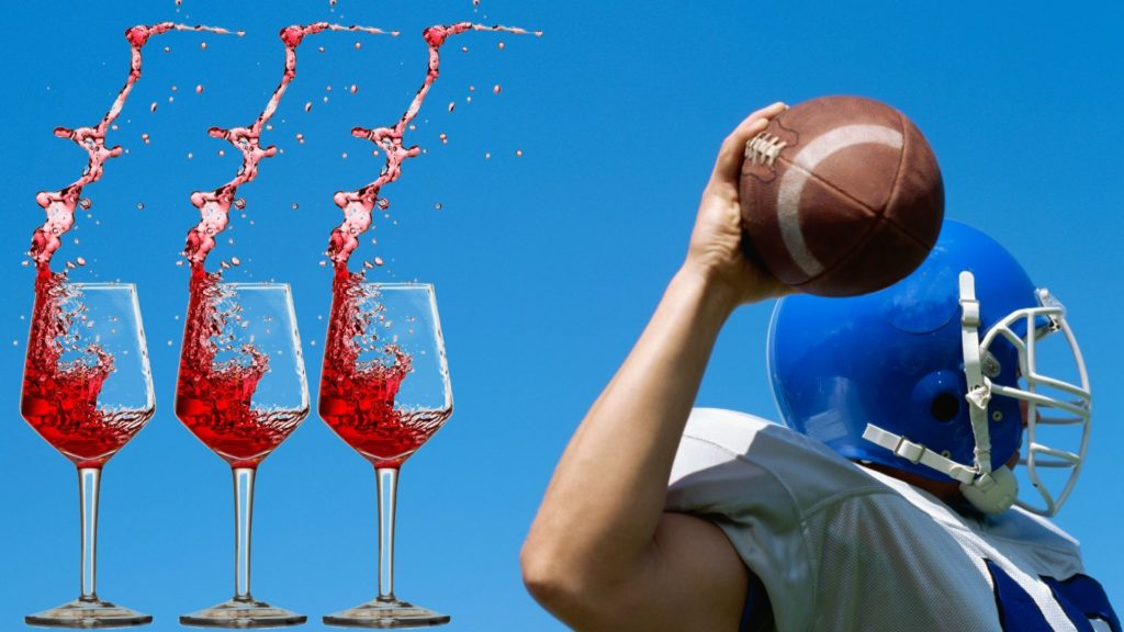super bowl food and wine pairings